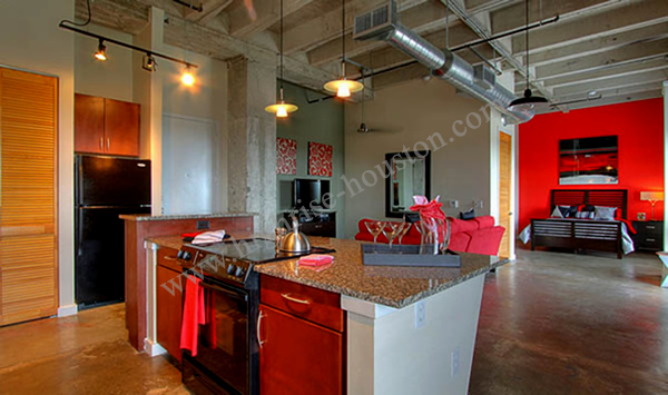Delightful Hermann Lofts Highrise Apartments Houston Medical Center[16]