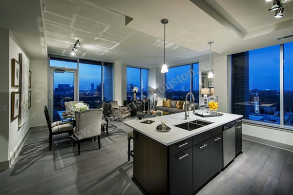 Highrise Apartments Lease Rent On Post Oak In Galleria