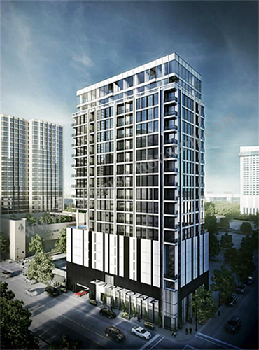 Marlowe 1311 Polk Houston Tx 77002 Highrise Houston
